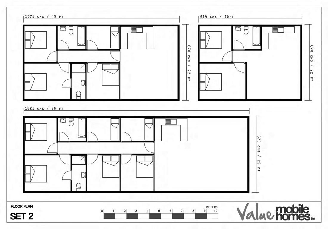 ValueMobilehome Floorplans Set2