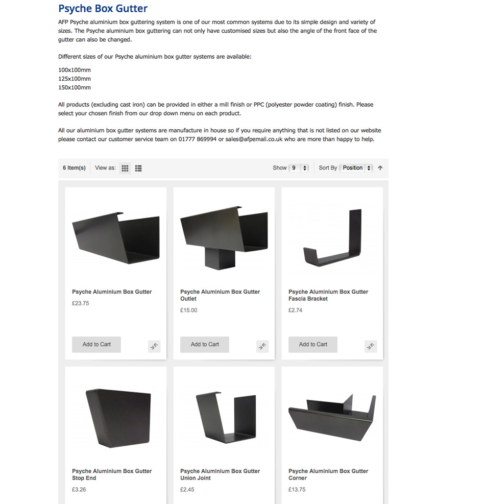 MaterialSpecificationAluminiumBoxGuttering-Psyche