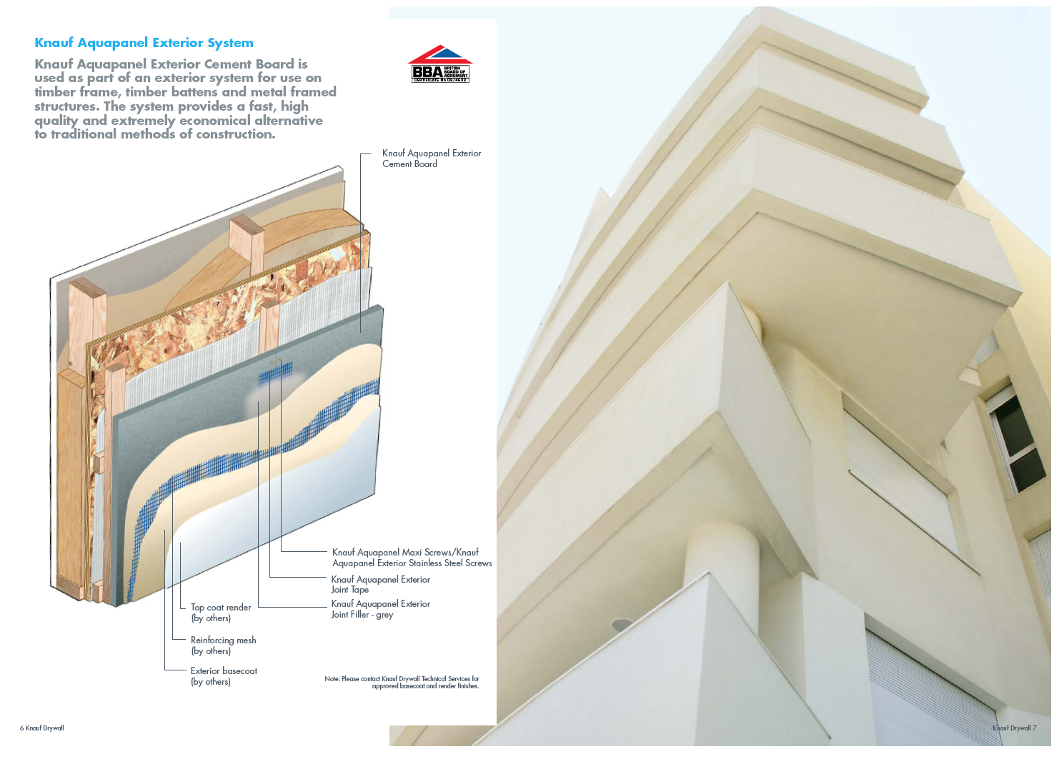 Material Specification Aquapanel Exterior Cement Board