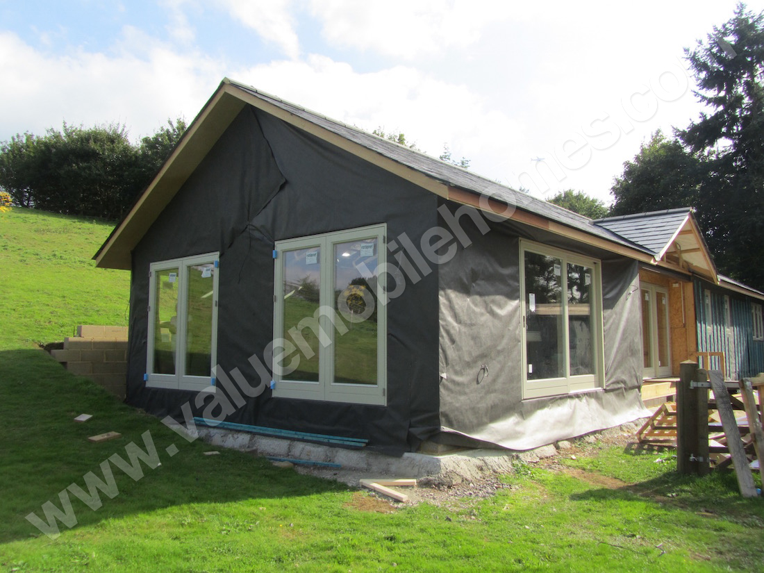 Mobile home gatwick full size high pitch roof 65 x 22 for House plans with high pitched roofs