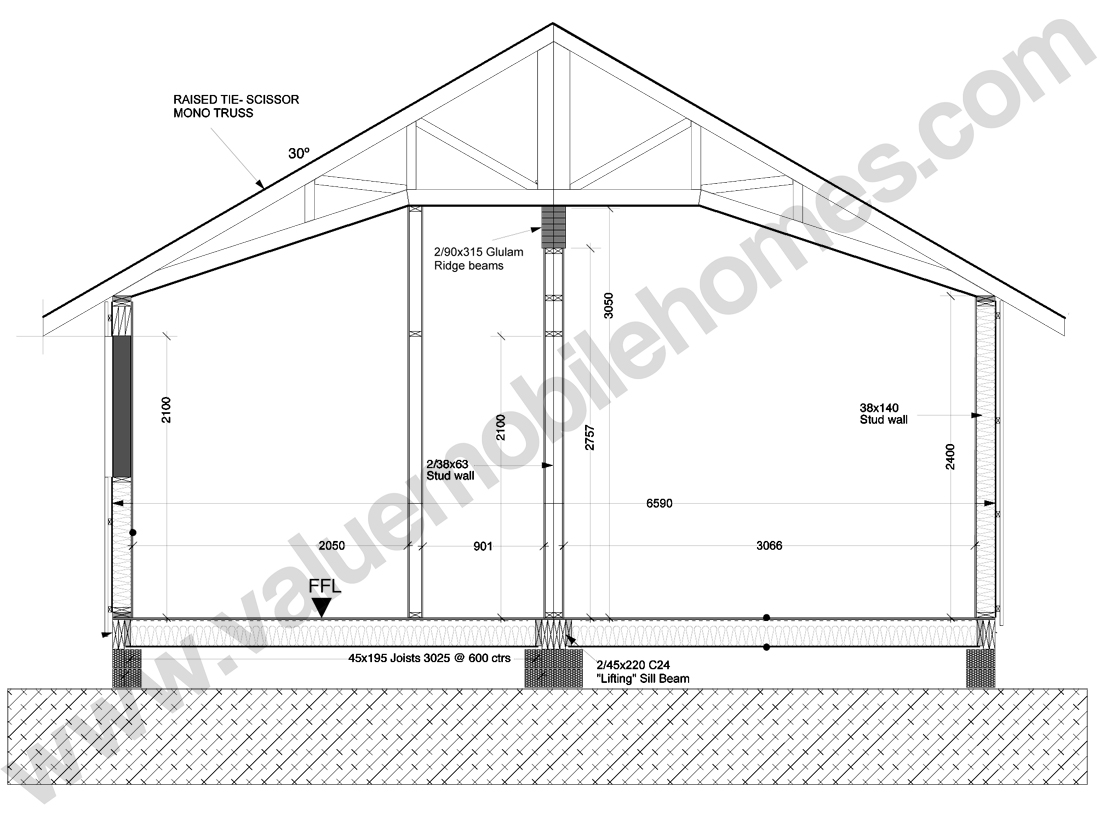 Mono pitch roof shed plans for Manufactured roof trusses