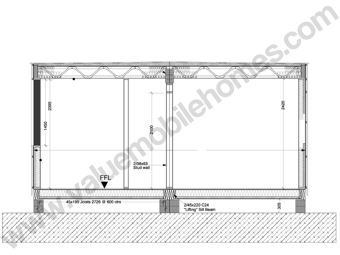 MobileHome-Section-Flatroof-2400window