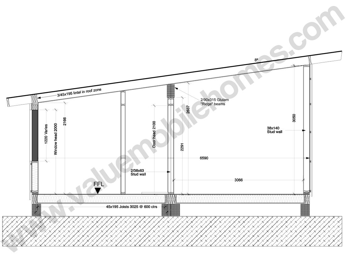 Mobile Home Specification Roof Types And Sections